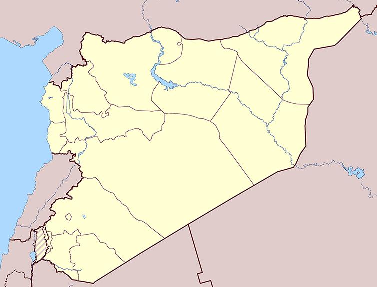 Syria Location