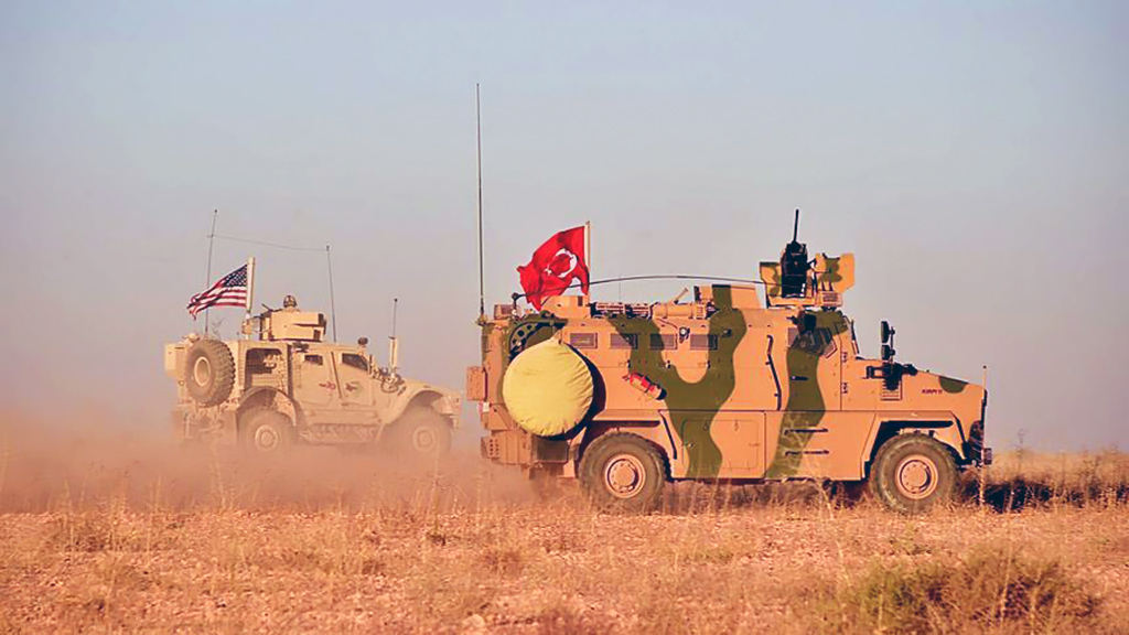Turkish and U.S. troops