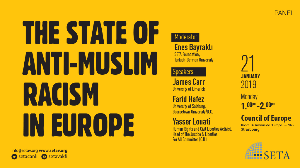 Panel: The State of anti-Muslim Racism in Europe