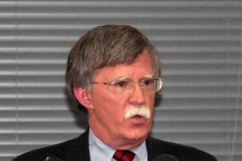U.S. National Security Adviser John R. Bolton