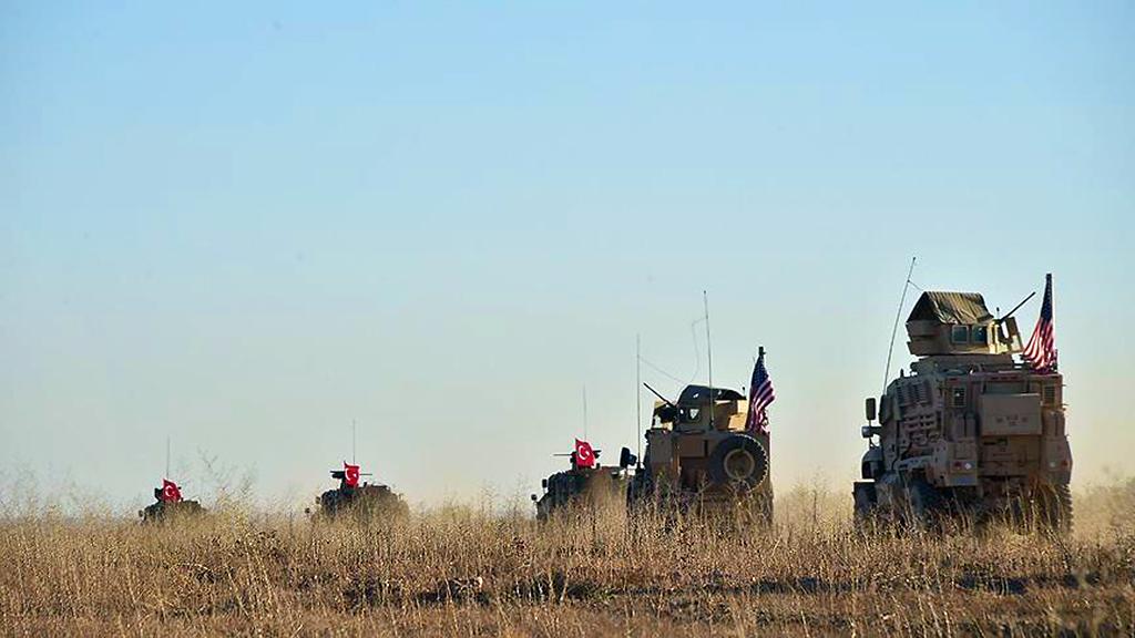 Turkish - US Military Patrol
