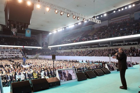 President Recep Tayyip Erdoğan on Thursday unveiled the Justice and Development Party's (AK Party) 11-point municipal election manifesto