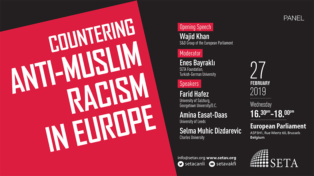 Panel: Countering Anti-Muslim Racism in Europe