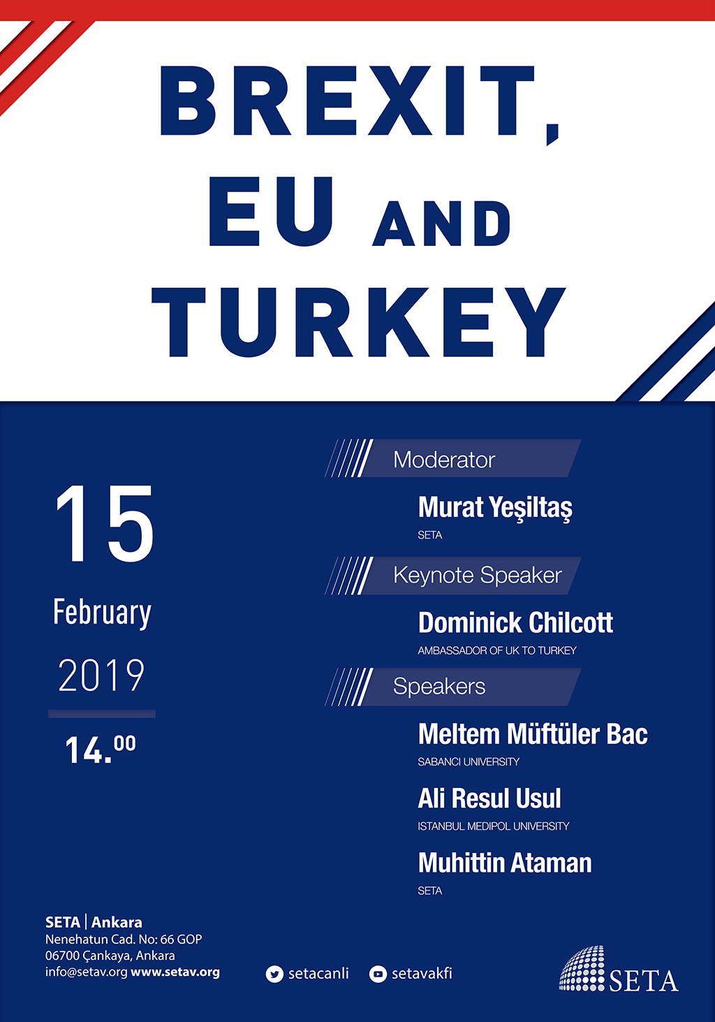 Panel: Brexit, EU and Turkey