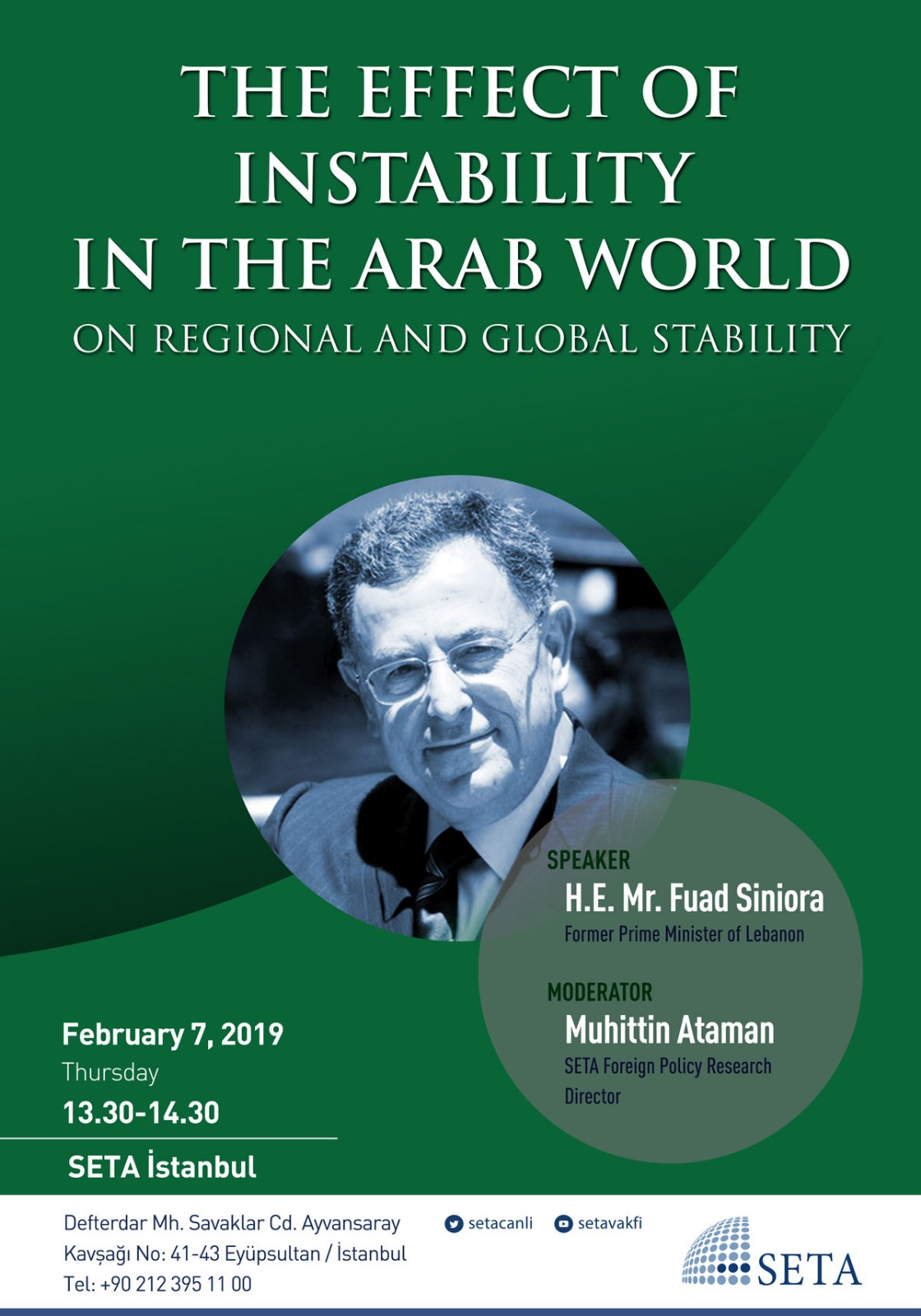 Panel: The Effect of Instability in the Arab World on Regional and Global Stability