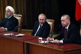 Presidents of Turkey, Russia, Iran meet Thursday to discuss Syria