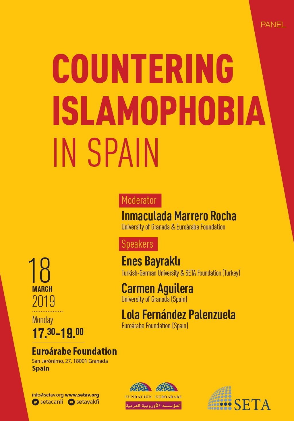 Panel: Countering Islamophobia in Spain