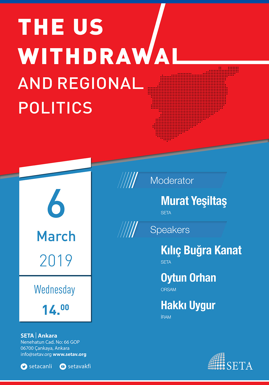 Panel: The US withdrawal and regional politics
