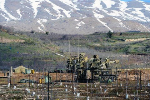 Israel has occupied most of the Syrian Golan Heights since the 1967 Middle East War.