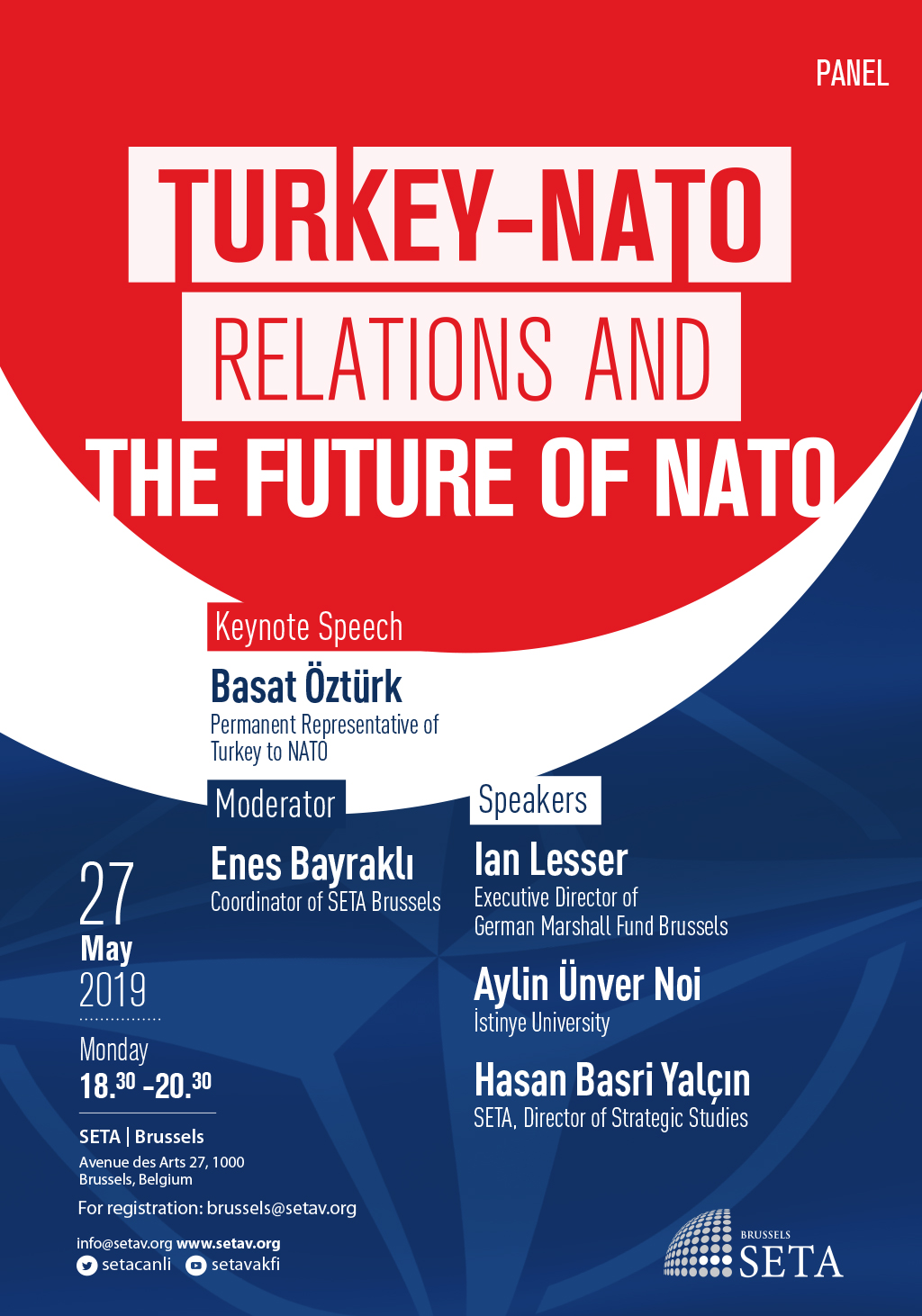 "Panel: ""Turkey-NATO relations and the future of NATO'' 