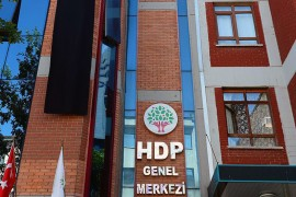 Turkey's Peoples' Democratic Party (HDP) Headquarters in Ankara