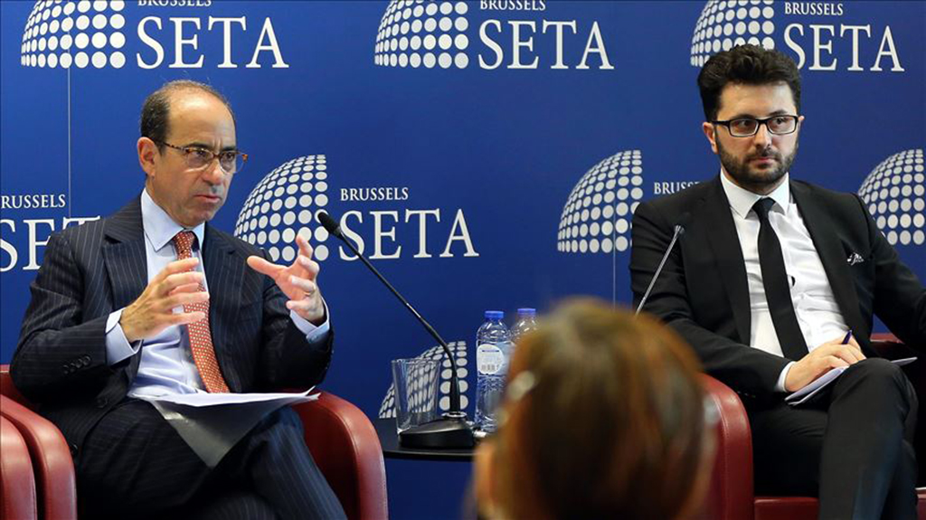 """It's a political problem. If Turkey receives S-400s, the F-35 transfers will be stopped and that would be a big loss,"" Ian Lesser, executive director for Brussels bureau of the German Marshall Fund, told a panel hosted by the Foundation for Political, Economic and Social Research (SETA)."