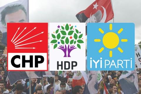 CHP - HDP - İYİ Parti