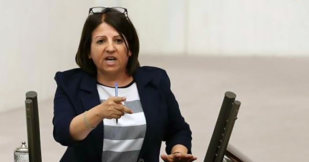 "Fatma Kurtulan: ""People, including supporters of HDP and PKK, voted for the alliance, of which you are part, despite you. You occupy your seats today thanks to the HDP's votes. Your alliance with the CHP owes itself to the HDP's votes."""