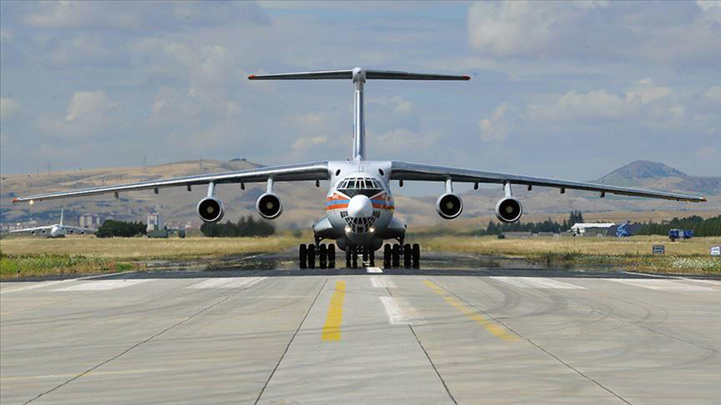 Three cargo aircraft carrying components of Russian S-400 missile defense systems arrived in the Turkish capital Ankara on Friday, said Turkey's national defense minister.