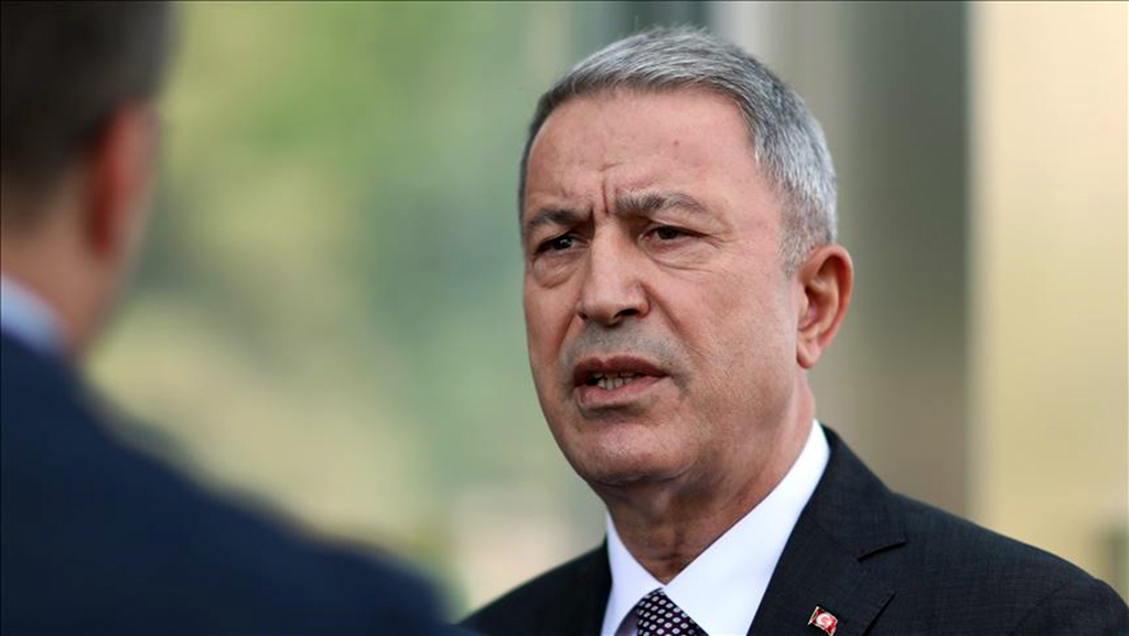 Process of delivery of S-400 missile systems will continue in coming days, says Turkish Defense Minister Hulusi Akar