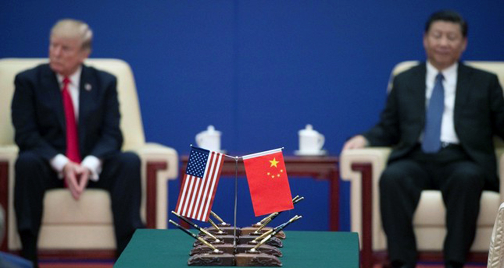 US-China trade war puts future economic order in question
