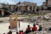 Kids in Idlib.