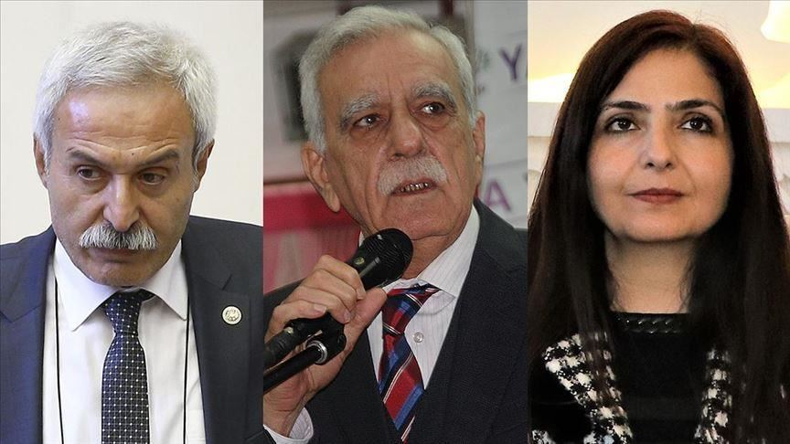 "Three mayors in eastern and southeastern Turkey suspended this week for allegedly supporting terrorism were already in the legal system facing terrorism charges, according to information from the Interior Ministry.  The mayors of the cities of Diyarbakir, Mardin and Van already had active cases against them and face charges such as establishing or spreading propaganda for a terrorist organization or terror group membership, said information from the ministry compiled by Anadolu Agency.  All three mayors are from the opposition Peoples' Democratic Party (HDP), a party Turkey's government has accused of having links to the PKK terror group.  Adnan Selcuk Mizrakli, the suspended mayor of Diyarbakir, faces eight investigations and a case for establishing or managing an armed terrorist group, being a member of an armed terrorist group, spreading terrorist propaganda, and praising crime and criminals.  Ahmet Turk, the suspended mayor of Mardin, faces four investigations and two cases for being a member of an armed terrorist group, establishing or managing an armed terrorist group, and willingly assisting an armed terrorist group.  Bedia Ozgokce Ertan, the suspended mayor of Van, faces six investigations and charges of spreading terrorist propaganda, being a member of an armed terrorist group, and praising crime and criminals.  After being elected this March, all three suspended mayors allegedly continued supporting the aims, ideological rhetoric, and actions of the terrorist PKK instead of serving the public, said the ministry.  The three allegedly worked with terrorist groups in the municipalities using false names and fronts, and aimed to make the municipalities a contact center for the terrorist PKK.  The mayors also allegedly allowed non-city employees to be involved in determining municipal spending, recruitment, and city council agendas. Non-employees were allegedly allowed to work in municipalities as if they were on staff and give orders to the municipal staff.  The mayors also allegedly tried to provide jobs and financial support to the relatives of PKK terrorists who had been neutralized in counter-terrorism operations and put pressure on the relatives of soldiers martyred in counter-terror operations.  In addition, they illegally implemented a ""co-mayor"" model that has no basis in Turkish law, the ministry added.  In its more than 30-year terror campaign against Turkey, the PKK -- listed as a terrorist organization by Turkey, the U.S. and the EU -- has been responsible for the deaths of some 40,000 people, including women, children, and infants. (AA)"