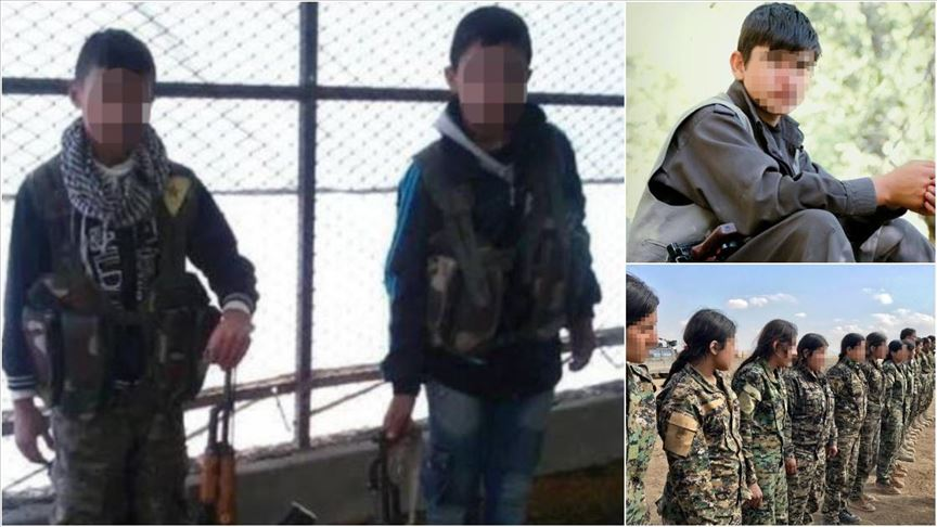 By signing pact with UN, PKK/YPG admits to long-documented war crime of recruiting and using child soldiers as young as 11
