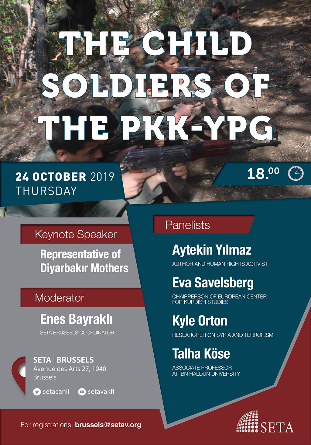 Panel: Child Soldiers of the PKK – YPG