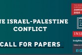 Call for Papers: The Israel-Palestine Conflict