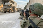 Members of Turkish Armed Forces (TSK) continue operations against the PKK, listed as a terrorist organization by Turkey, the U.S. and the EU, and the Syrian Kurdish YPG militia, which Turkey regards as a terror group, within Turkey's Operation Peace Spring in Ras Al Ayn, Syria on October 17, 2019.