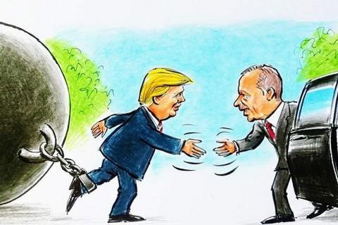 Erdogan - Trump Meeting | Illustration: Erhan Yalvaç