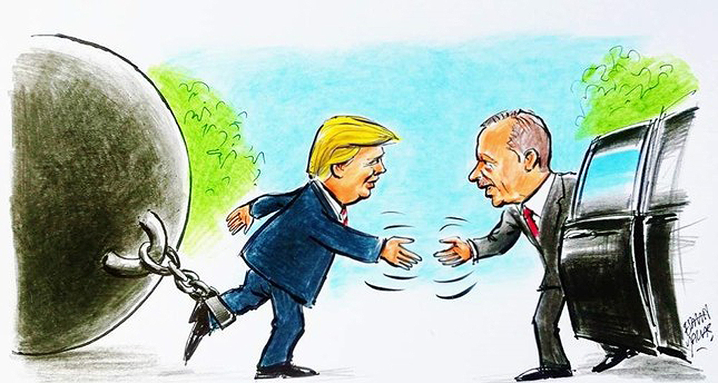 Erdogan - Trump Meeting | Illustration: Erhan Yalvaç