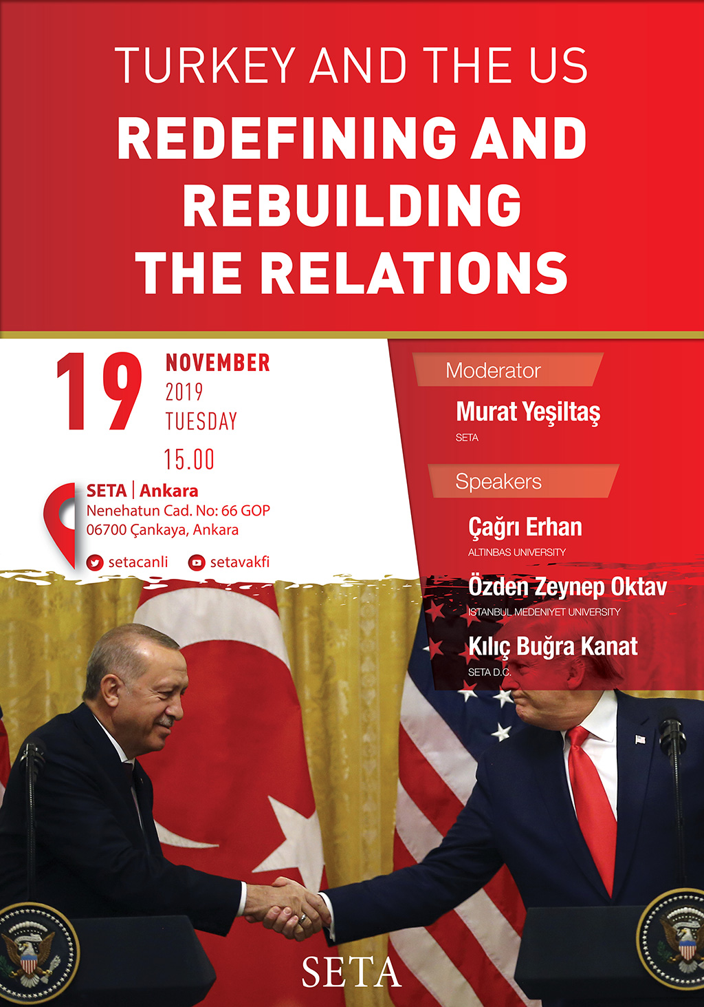 Panel: Turkey and the US | Redefining and Rebuilding the Relations