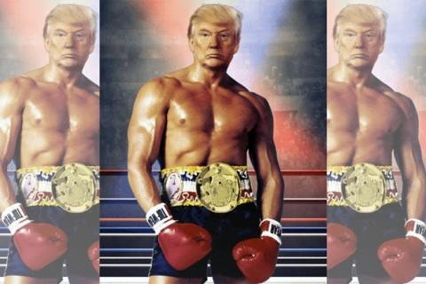 Donald Trump - Rocky Balboa