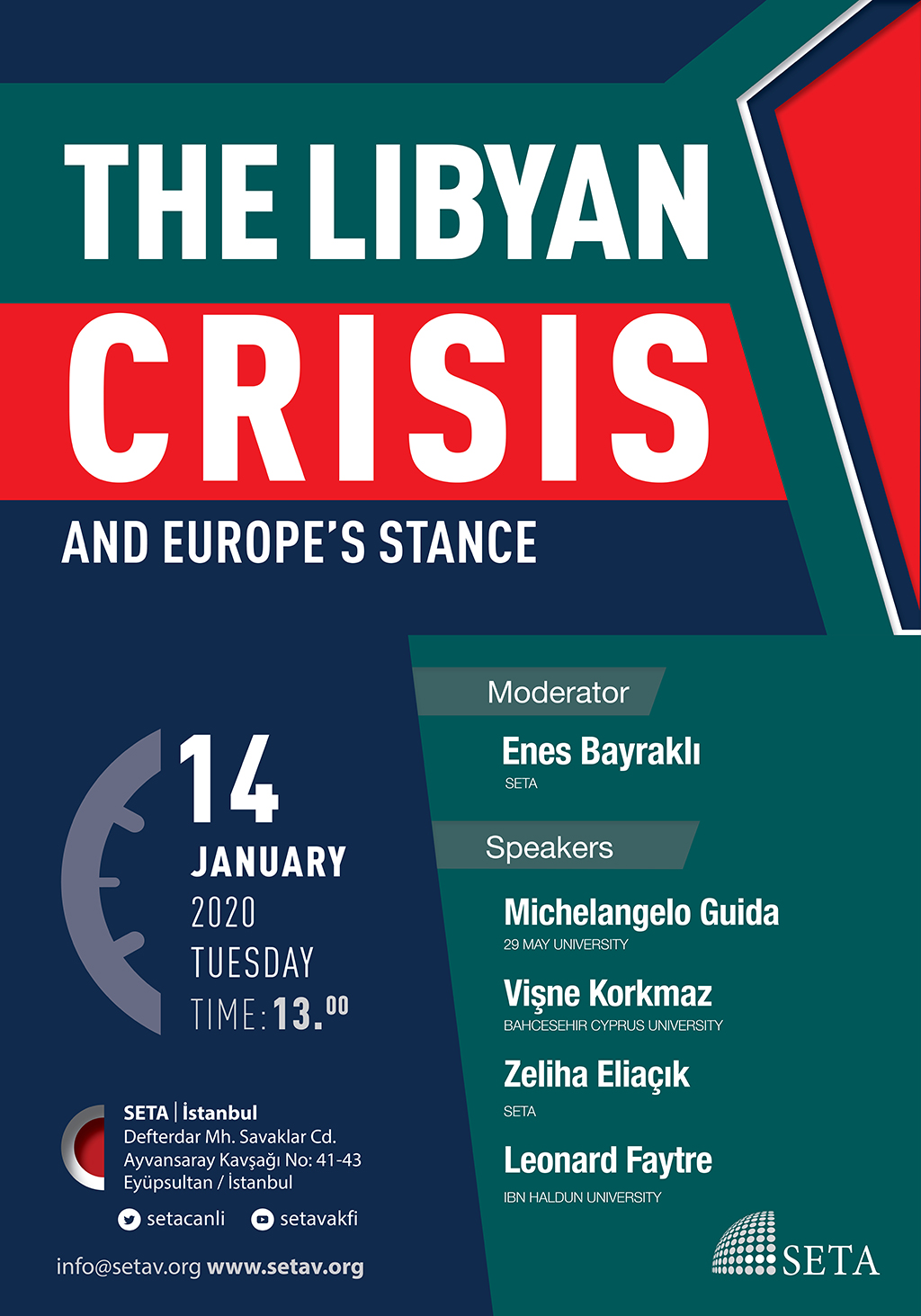 Panel: The Libyan Crisis and Europe's Stance