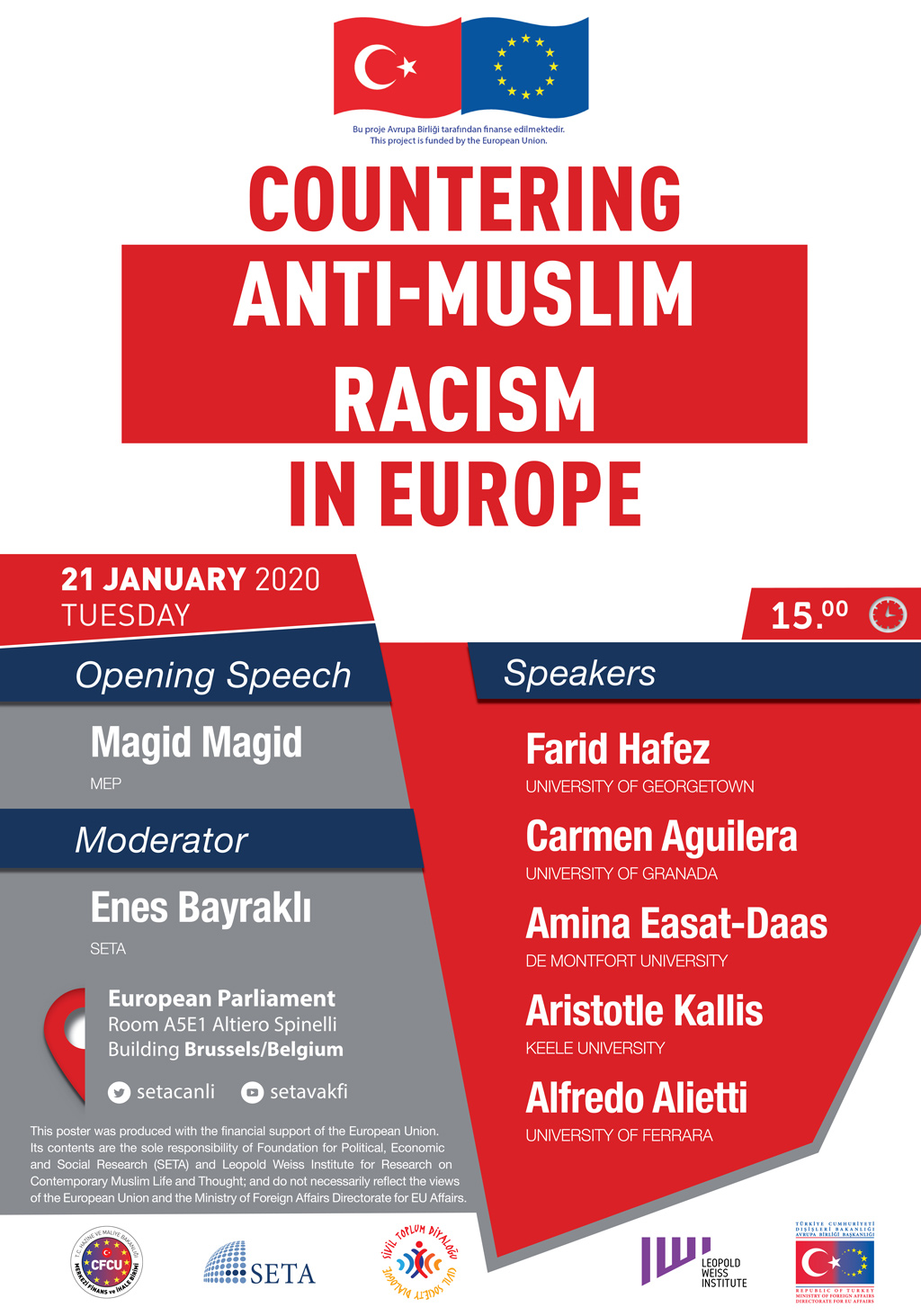 Panel: Countering Anti-Muslim Racism in Europe