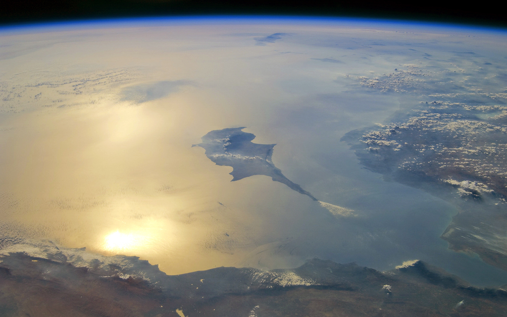 A satellite view of the Eastern Mediterranean (2011)
