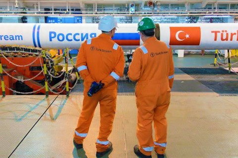 TurkStream natural gas pipeline project