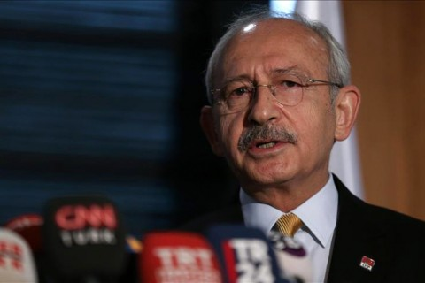 Chairman of the Republican People's Party (CHP) Kemal Kilicdaroglu