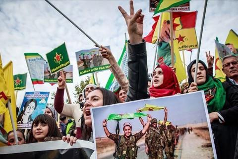 Germany tolerating activities of YPG/PKK terror group