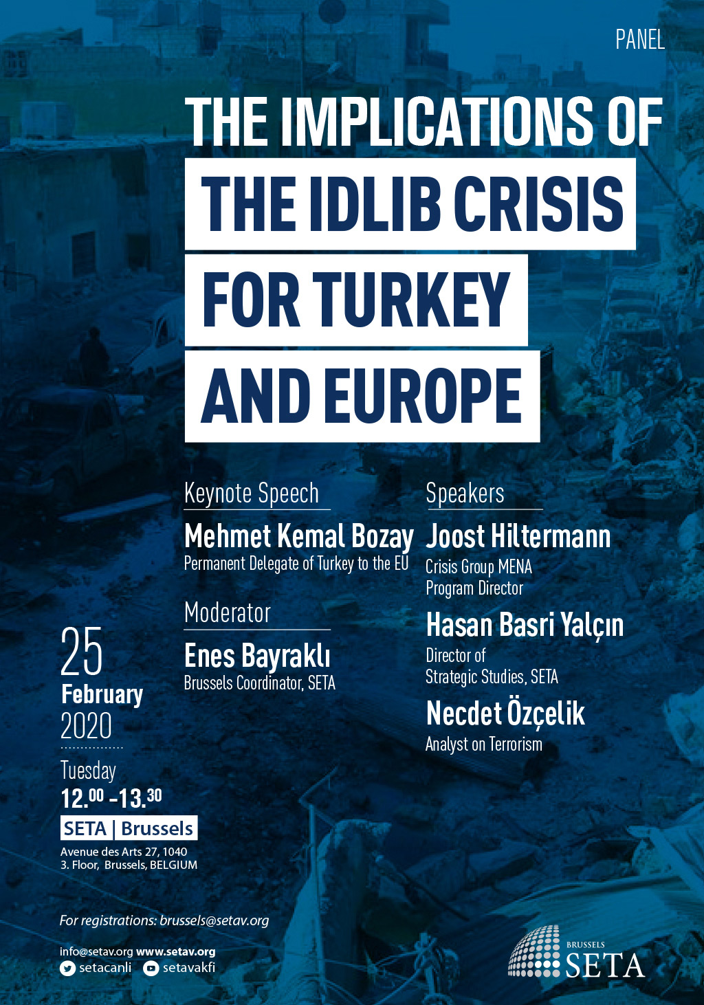 Panel: The Implications of the Idlib Crisis for Turkey and Europe