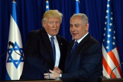 U.S. President Donald Trump and Israeli Prime Minister Benjamin Netanyahu