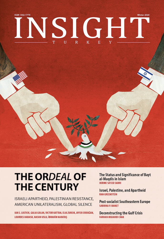 "A New Issue of Insight Turkey entitled as ""The Ordeal of the Century"" Has Been Released!"