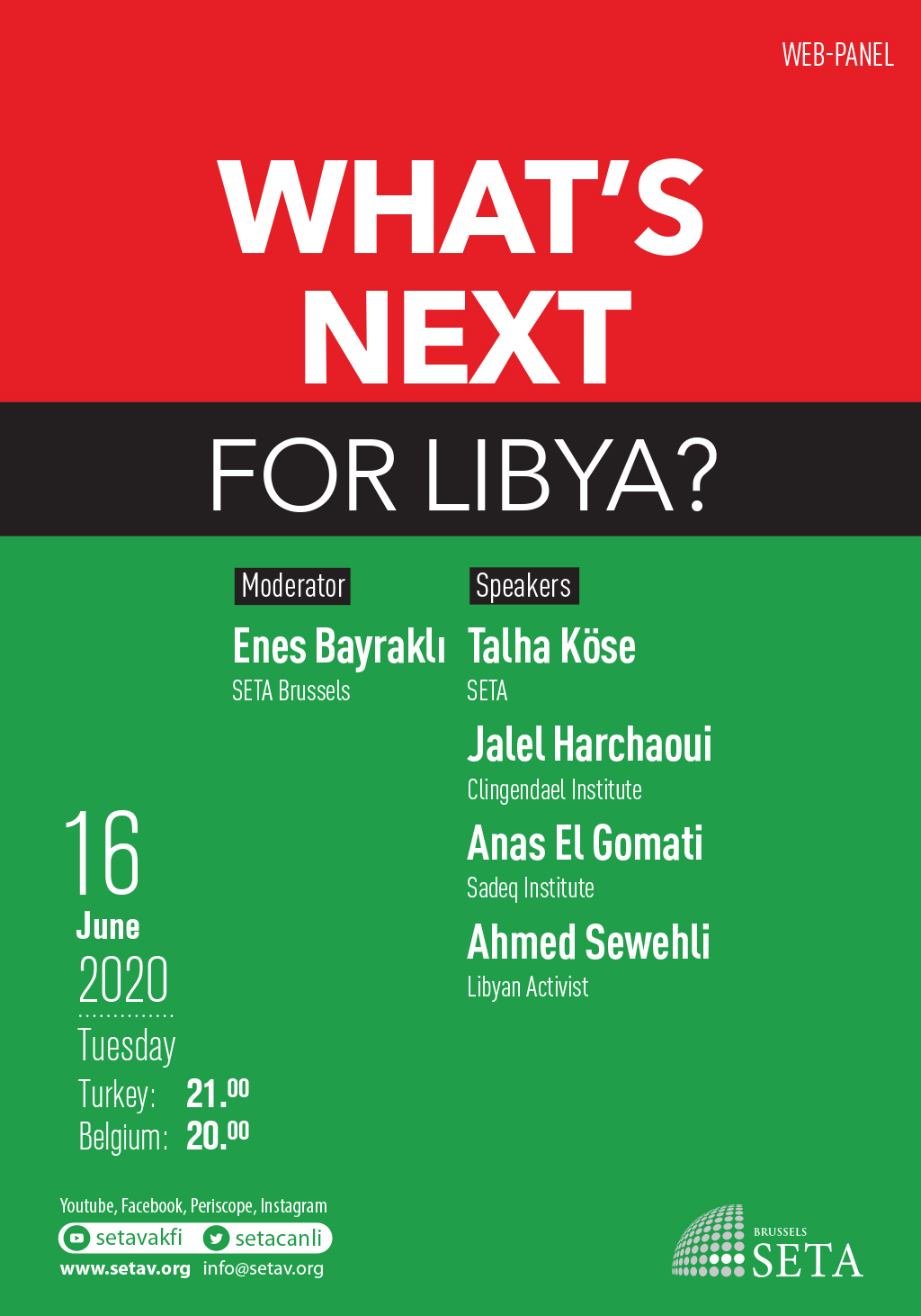 Web Panel: What's next for Libya?