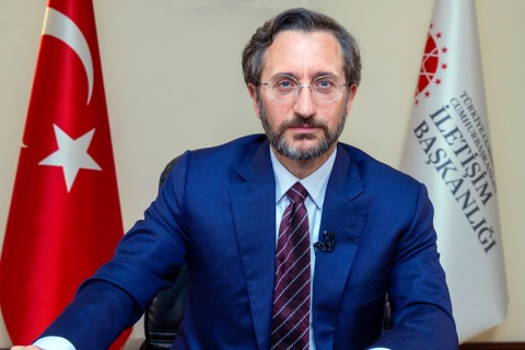 Turkey's Communications Director Fahrettin Altun
