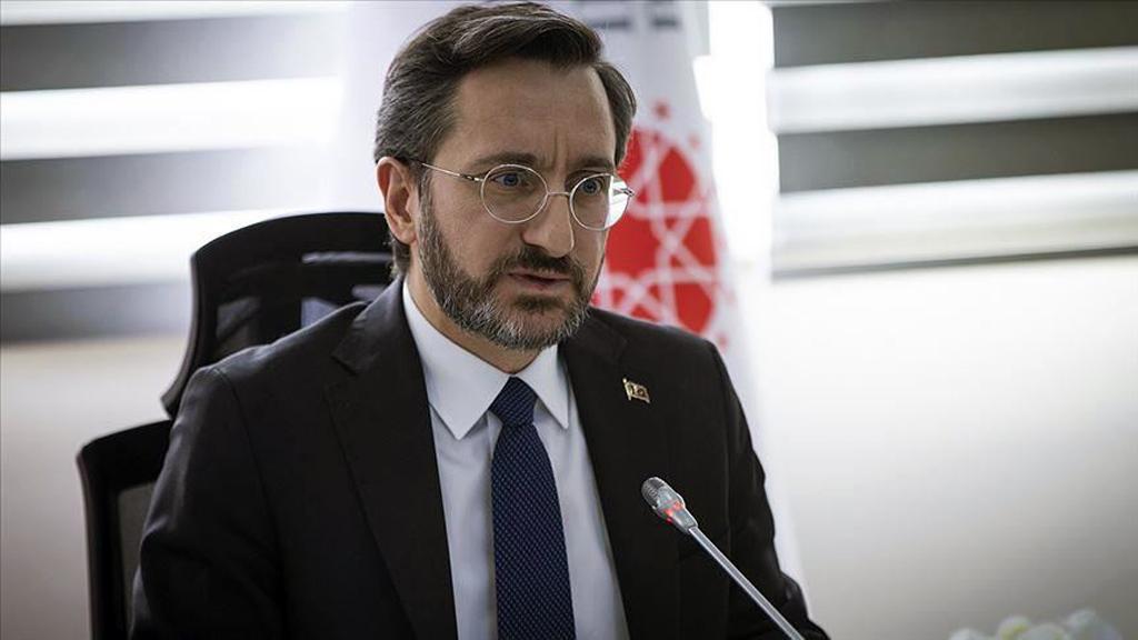 Turkey's Communications Director Fahrettin Altun
