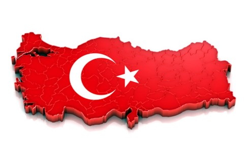 Turkey Map 3D