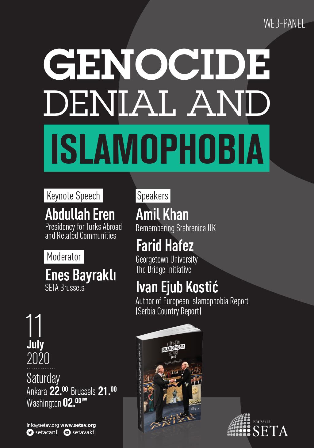Web Panel: Genocide Denial and Islamophobia