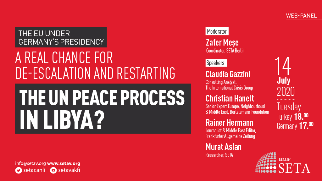 Web Panel: The EU under Germany's presidency | A real chance for de-escalation and restarting the UN peace process in Libya?