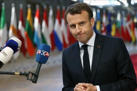 France's President Emmanuel Jean-Michel Frédéric Macron