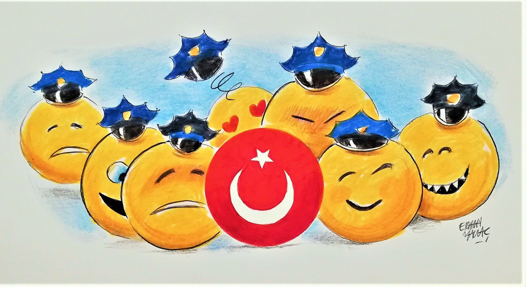 Good cop, bad cop play against Turkey?
