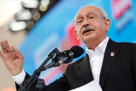 Chairman of the Republican People's party (CHP) Kemal Kılıçdaroğlu
