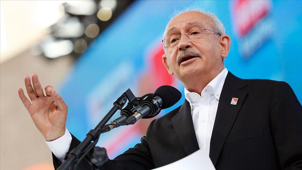 Chairman of the Republican People's party (CHP) Kemal Kılıçdaroğlu